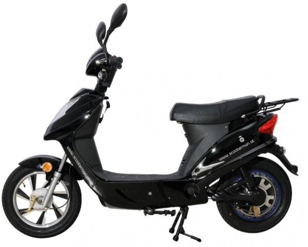 scooterman city black edition